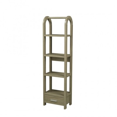 Brooks Furniture -  14905-DT / 151320 DISPLAY SHELF DARK TAUPE