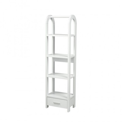 Brooks Furniture - 14905-WH DISPLAY SHELF WHITE