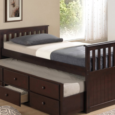 Brooks Furniture - Captains Bed With Trundle